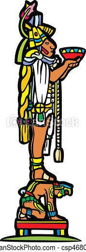 Mayan and Slave - csp4680172