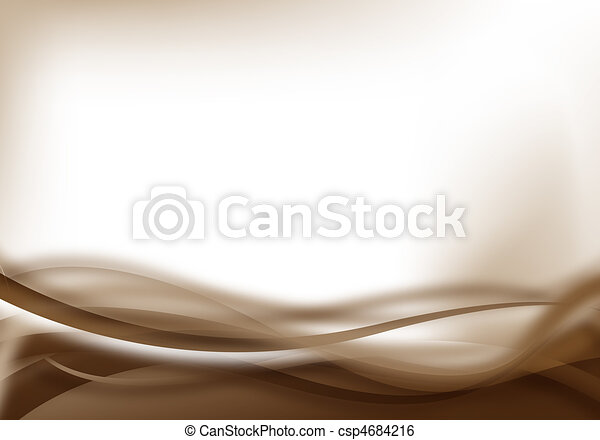 brown soft background - csp4684216