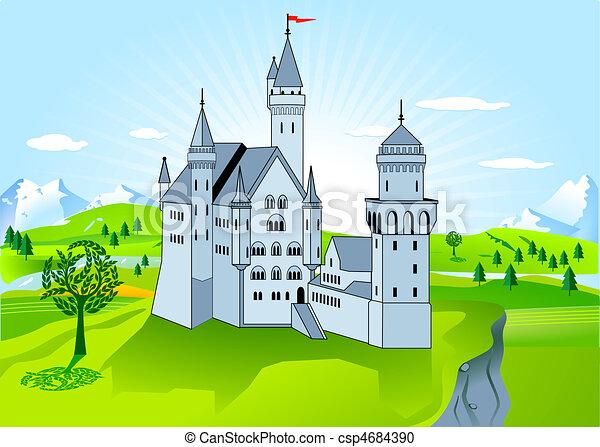 royal palace stock illustration instant download csp4684390. Black Bedroom Furniture Sets. Home Design Ideas