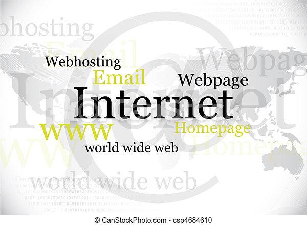 internet, world wide web design - csp4684610