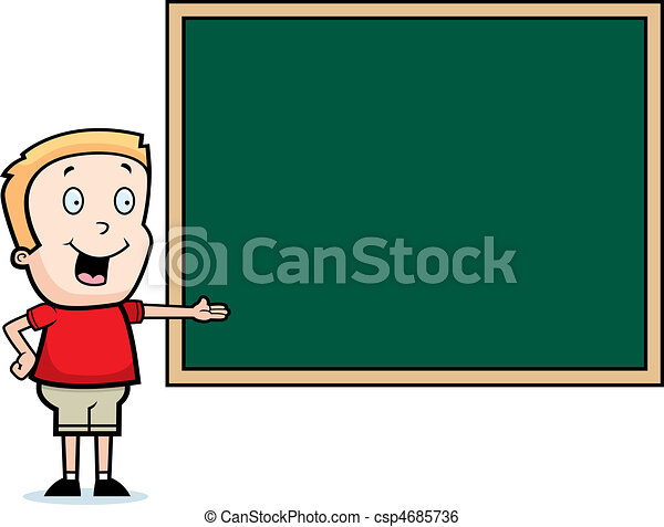 Child Chalkboard - csp4685736