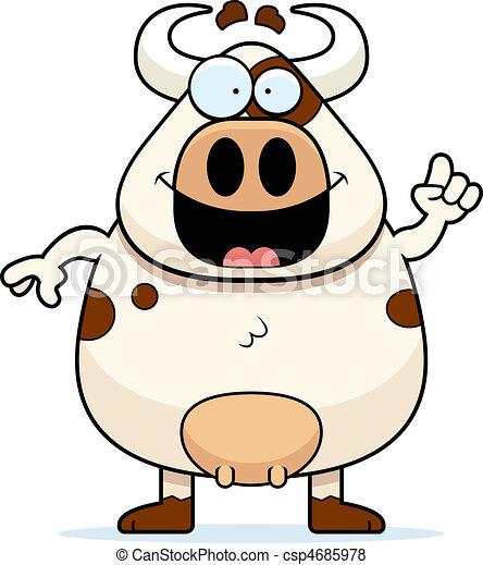 Cow Idea - csp4685978