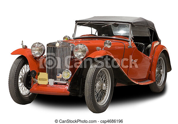 自動車, クラシック - csp4686196