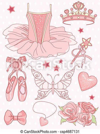 Princess Ballerina Set - csp4687131