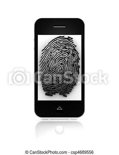 Mobile fingerprint - csp4689556