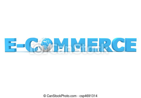 World E-Commerce - csp4691314