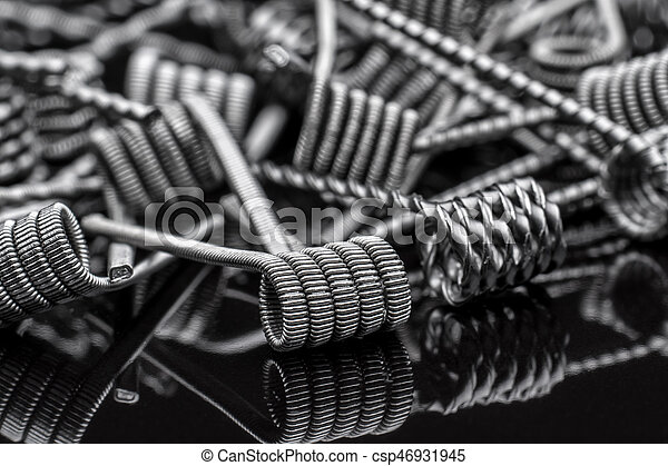 Multistrand Ribbon Fused Clapton on a dripper gold - csp46931945