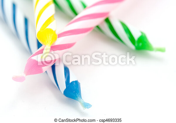 Birthday Candles - csp4693335