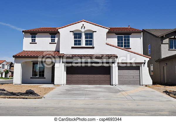 New Residential Home - csp4693344