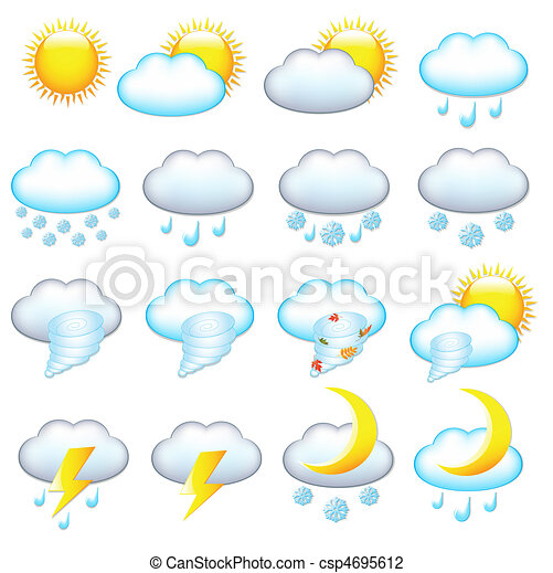 Weather Icons - csp4695612
