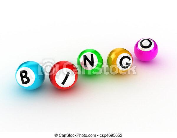 Bingo - csp4695652
