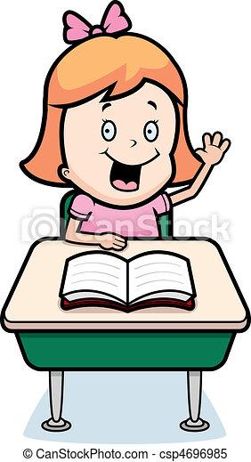 Child Student - csp4696985