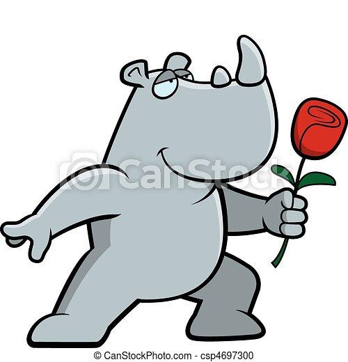 Rhino Flower - csp4697300