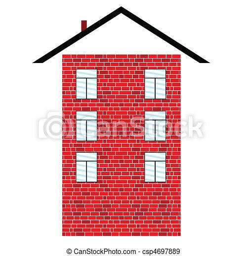 Stock Illustrations Of Brick Building Illustration Illustration
