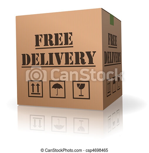 free package delivery order shipment - csp4698465