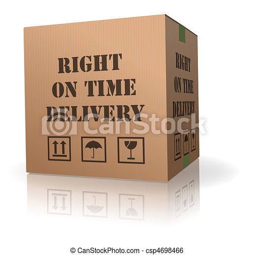 right on time delivery - csp4698466