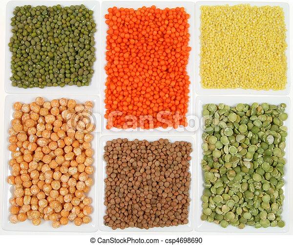cereales, legumbres - csp4698690