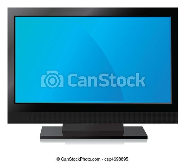 Black LCD, LED, Plasma TV - csp4698895