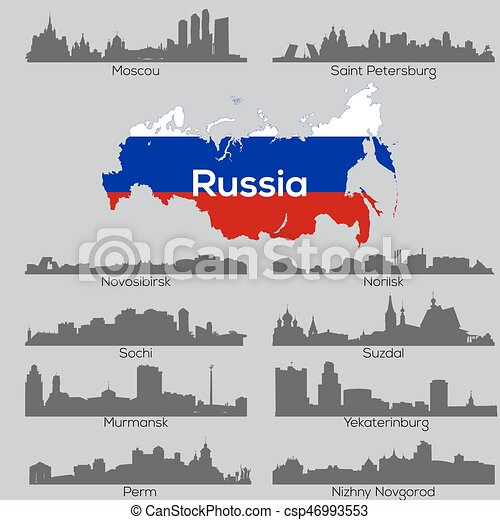 Russia cities skylines - csp46993553