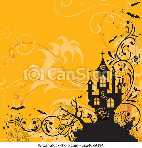 Halloween theme - csp4699414