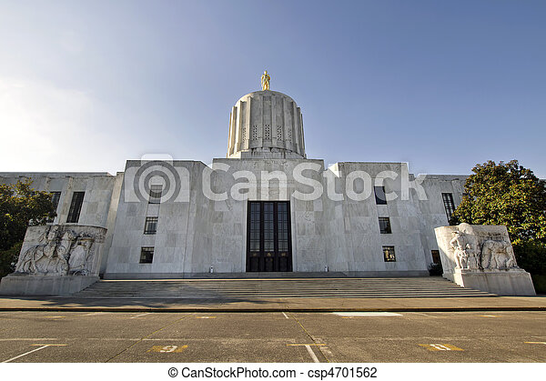 State of Oregon Capitol Building - csp4701562