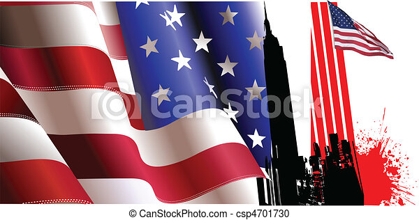 4th July %u2013 Independence day of Uni - csp4701730