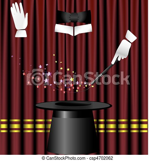 magic curtain - csp4702062