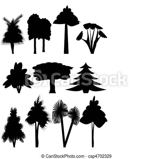 Trees. - csp4702329