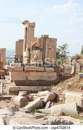 Ephesus ruins- izmir-turkey - csp4702614