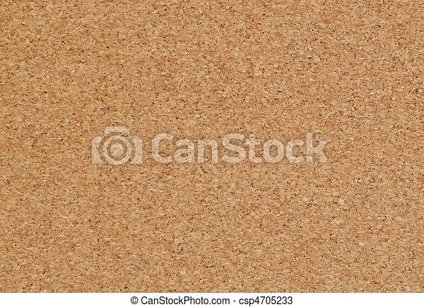 cork board background - csp4705233