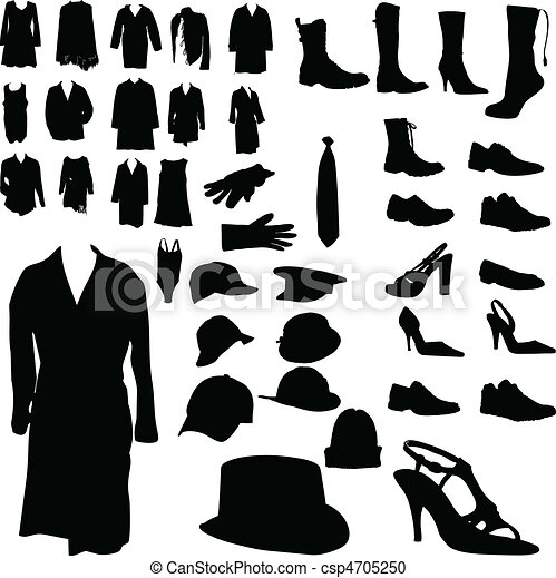 clothing and footwear and headgear - csp4705250