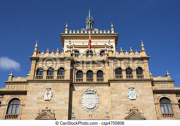 Landmark in Valladolid - csp4705806