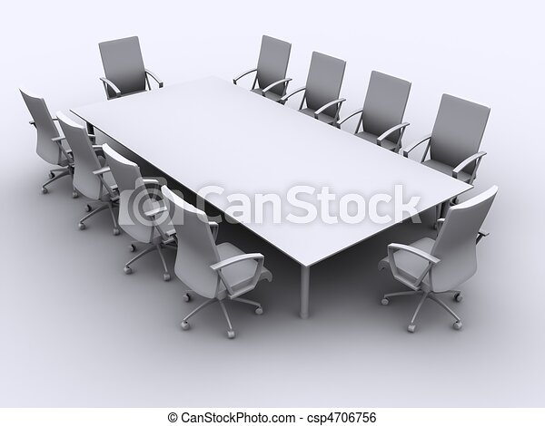 conference table - csp4706756