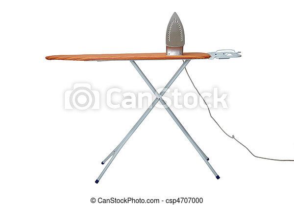 ironing clothes housework equipment - csp4707000