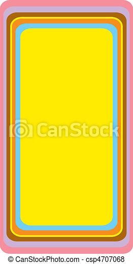 Background Urban Rectangle Vertical - csp4707068