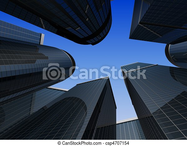 office building  - csp4707154