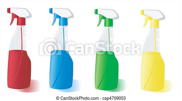 Spray Bottles - csp4709053