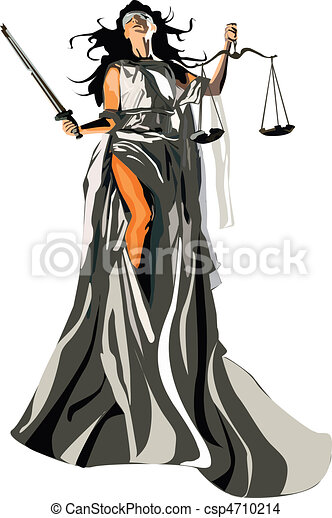 Lady justice Clip Art and Stock Illustrations. 831 Lady justice ...