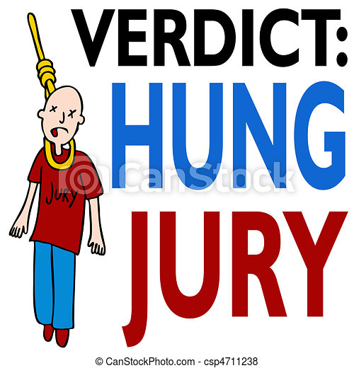 Hung Jury - csp4711238