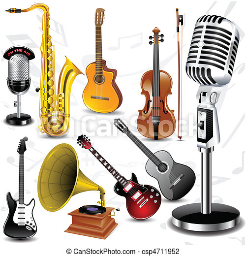 Vector musical instruments - csp4711952