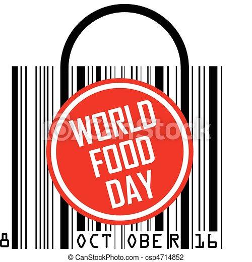 Vector Illustration of October 16 - World Food Day ...