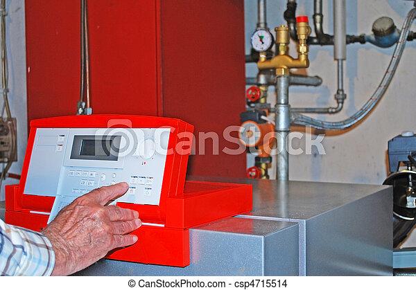 oil heating - csp4715514