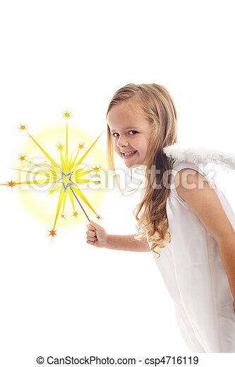 Little christmas fairy - csp4716119