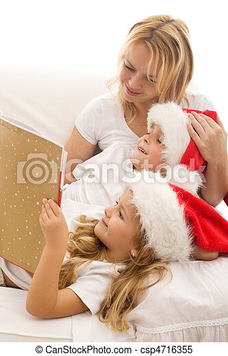 Christmas story time - csp4716355