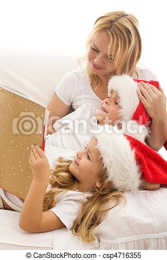 Christmas story time - csp4716355