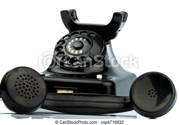 Photo de antiquit vieux retro t l phone fixe t l phone une csp471 - Prix des telephones fixes ...