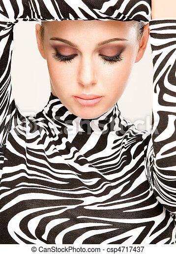 zebra fashion - csp4717437