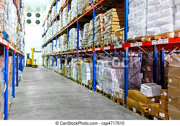 Cold warehouse - csp4717610