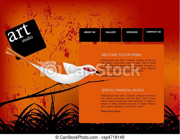 Website Template - csp4718149