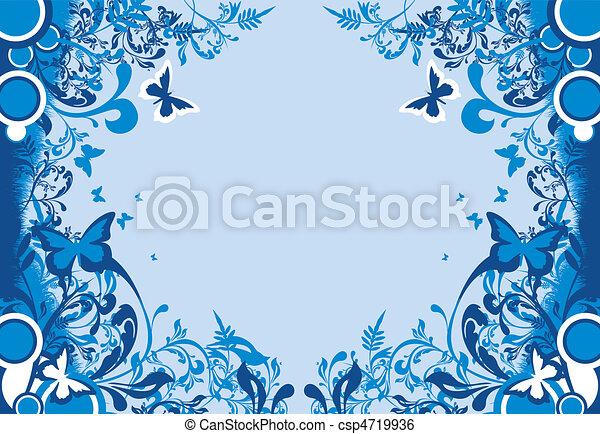 floral background - csp4719936